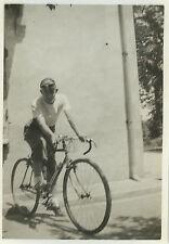 PHOTO ANCIENNE - VINTAGE SNAPSHOT - VÉLO DE COURSE BICYCLETTE CYCLISME - BIKE