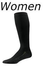 Lg S4000 Aetrex Copper Sole Compression Socks Knee Hi Women Size 11 12 13 Black