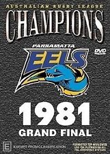 Champions - 1981 Grand Final - Parramatta (DVD, 2003)