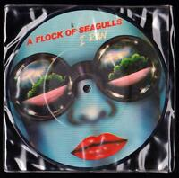 A FLOCK OF SEAGULL DISCO PICTURE DISC 45 GIRI I RAN - JIVE P 14