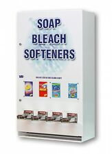 SOAP VENDING MACHINE LAUNDRY SUPPLY SOAP BLEACH DRYER