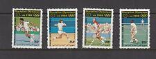 TENNIS/OLYMPICS - Comoro Islands   -1987 AIRMAIL set of 4 -(SC C167-70)-MNH-B370