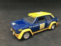 SOLIDO N°54 1/43 Fiat 131 Abarth tour de Corse 1977 #5  Russo , pas atlas