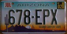 Targa Americana ARIZONA 678-EPX GRAND CANYON 31x16 cm - Il Più basso di EBAY!!