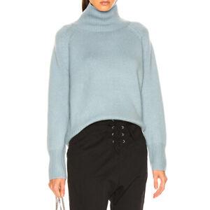 Nili Lotan Mariah Funnel Neck 100% Cashmere Sweater Knit Jumper $795 4 colors