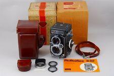 2383#GC Rolleiflex 3.5F Planar 75mm f/3.5 w/ Case + Box Near Mint