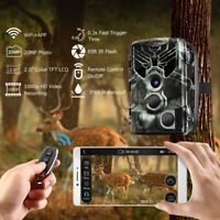 DIERYA Trail Camera WiFi 20MP 1296P Wildlife Hunting Game Cam PIR Night Vision