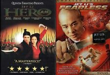 Jet Li 2-DVD Set, Hero, Widescreen Edition and Fearless, Unrated Version