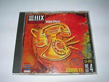 EMU E-MU Library CD Sound Effects FX Vol. 4 EIII ESI E4 E-IV Sampler Sounds