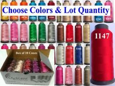 1 Crescent Rayon Embroidery Machine Thread Spool 2500m 80g 1 Postg / Free on 10