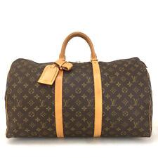 100% Authentic Louis Vuitton Monogram Keepall 50 Boston Travel Hand Bag /11189