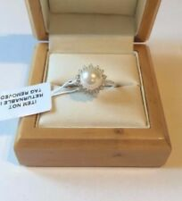 Swarovski Simulated Solitaire with Accents Fine Rings