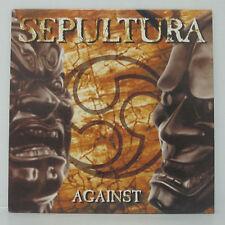 SEPULTURA - Against LP 1998 Netherlands ORIG Soulfly Slayer Metallica Megadeth