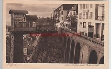 (110978) AK Helgoland, Falm mit Fahrstuhl 1928