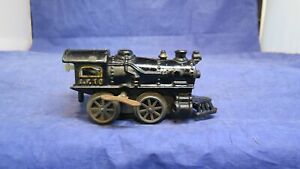 American Flyer Prewar O Gauge No. 10 Cast Iron Clockwork Steam Locomotive! CT