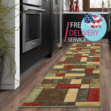 "Kitchen Runner Rug, 20""X59"" Non-Slip Rubber Backing Home floor Multi Color Rug"