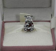 AUTHENIC PANDORA  Christmas Teddy Bear Charm, 797564ENMX     #1488
