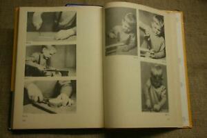 Bastelbuch für Kindergarten, Werken, Papierarbeiten, Holz, Pappe, Kork, DDR 1977