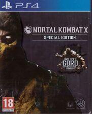 Mortal Kombat X Metal Steelbook Special Edition 18+ Fighting Game