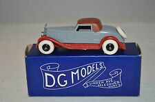 D.G. Models Dave Gilbert 1:43 Copy Dinky Packard Coupe DS-11 mint in box