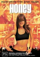 Honey (DVD, 2004) Jessica Alba Brand New & Sealed Region 2, 4