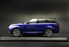 1/18 Kyosho Range Rover Sport SVR Estoril Blue Closed Bodyshell