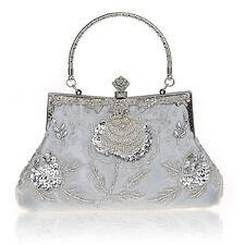 Vintage Retro Style Wedding Evening Handbags Formal Cocktail Clutch Purse Bags