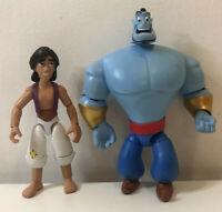 Aladdin and Genie Toybox Action Figures, From Disney Store