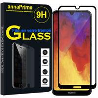 "Vitre Film Verre Trempe Protecteur écran Huawei Y6 (2019)/ Y6 Prime (2019) 6.09"""
