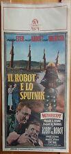 IL ROBOT E LO SPUTNIK, 1958, locandina originale, prima edizione