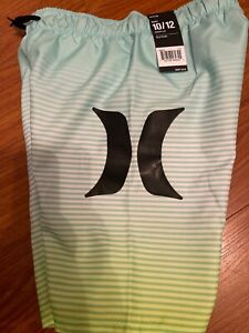 NWT Boys Hurley Board Swim Shorts Size 10/12