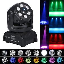 Lixada 120W Wash Gobos 2In1 RGBW Stage Lighting DMX512 Party Bar DJ Light U4G3