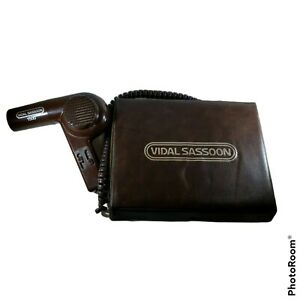 "VTG Vidal Sassoon Professional Curling Iron Brush Set and Hairdryer 3/4"" & 1/2"""