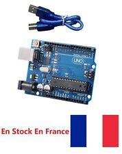Genuine arduino uno rev3 R3 328 ATmega328P DIY + USB cable compatible arduino