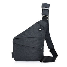 Waterproof Personal Shoulder Pocket Bag Men Just Today Travel Anti Theft Casual
