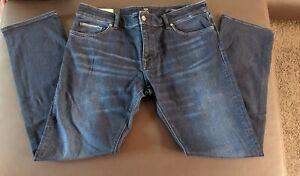 Hugo boss Herren Jeans Blau  Gr. 36/32