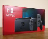 *NEW IN HAND* Nintendo Switch Console Grey V2 32GB Boxed with Extended Battery