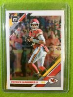 PATRICK MAHOMES OPTIC CARD JERSEY #15 KANSASCITY CHIEFS 2019 Donruss Football #1