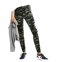 Anthropologie Pilcro Letterpress High Rise Skinny Corduroy Camo Pants 31. $110