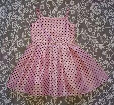 Sweet Millie Girl's Vestido Rosa, Talla 2 años