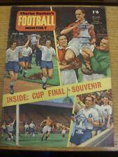 Charles Buchan mensual de fútbol de May-62: No.129 - imagen de portada (s) FA Cup Final Mon