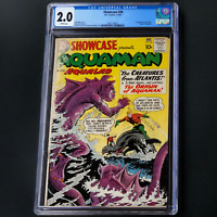 SHOWCASE #30 (DC 1961) 💥 CGC 2.0 WHITE PGs 💥 1ST AQUAMAN TRYOUT ISSUE!