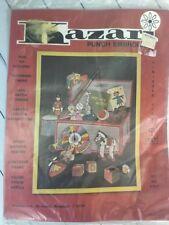 Vintage Kazari Punch Embroidery Kit E-1017 CHILDRENS TOY BOX CHEST New Sealed