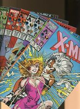 Uncanny X-Men 214,215,216,217,218,219,220 * 7 book * Havok & Dazzler join X-Men!
