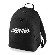 UNSPEAKABLE GAMING BACKPACK BAG RUCKSACK YOUTUBE DAN TDM GREAT FOR SCHOOL