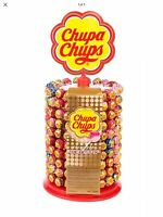 200 CHUPA CHUPS LOLLIES DISPLAY WHEEL STAND 200 ASSORTED LOLLIES Cheapest!