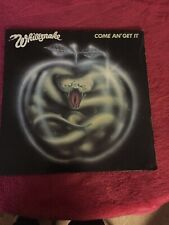 Whitesnake. Come and get it. Vinyl Inner Sl   Album first Pressing 1982 Rock Ex+