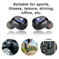 Mini Sports Wireless Bluetooth Headset Universal Earphone Headphone TWS Earbud