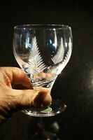 Beautiful Stuart Crystal Woodchester Large Wine/ Water Glass