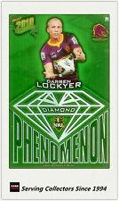 2010 Select NRL Champions Phenomenon Diamond Card P1 Darren Lockyer